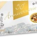 Confetti Prisco Anniversari Dorati incartati. Confezione da 1 Kg.