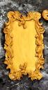 Cornice di uno Specchio decorato. Barocco Vintage. Stampo in silicone