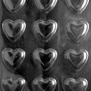 Cuori. Stampo per cioccolato in policarbonato