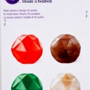 Gemme e Diamanti per Cioccolatini e Caramelle. Stampo Wilton.