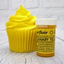Giallo Canarino. Linea Pastello. Colorante in Gel concentrato. Sugarflair