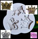 Grande Corona Inglese in 3 fantastiche forme. Stampo in silicone