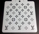 Louis Vuitton. Stencil L.V.