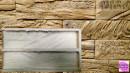 Muro Pietre in rilievo. Spettacolare e unico stampo in poliuretano di 25 cm