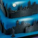 New York Città con Grattacieli e con la Statua della Libertà. Skyline. Stampo Tagliapasta