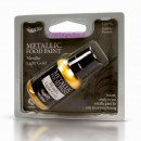 Nuova Vernice Metallizzata Oro Chiaro.Rainbow Dust Food Paints.25 ml.