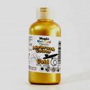 Oro 55 ml. Colorante liquido Metallizzato anche per Aerografo. Magic Colours