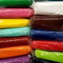 Pasta di zucchero Solo 2 mm!!!Colorata Confetti Perfetti per Copertura e Modelling. 1 Kg. Senza Glutine e prodotti O.G.M.