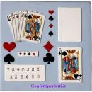 Stampo Tagliapasta Effetto Carte da Gioco Poker