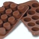 Praline. Stampo per cioccolato in silicone