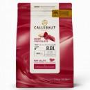 Ruby Rosa. Cioccolato Callets RB1. Callebaut