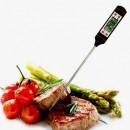 Misura temperatura cibi con Termometro digitale e Sonda di 15 cm