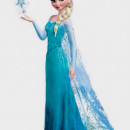 Stampo Elsa 3/D dal film Frozen in Silicone.