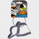 Star Wars. Yoda e Dart Fener. Set di 2 Stampi Tagliapasta in metallo.