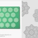 Tappetino in silicone per decoro Linea Magic Decor TMD02 Pavoni.