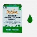 VERDE. Nuovi Coloranti Alimentari in Gel. 28 gr. Decora.