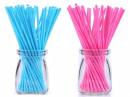 10 Stecche colorate Rosa o Azzurro. Altezza 11.5 cm per Cake Pops