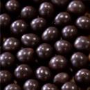 Perline di riso e frumento coperte di Cioccolato Fondente. CRUNCHY BEADS. 2/3 millimetri. Irca