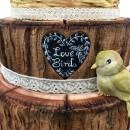 Corteccia e Venature Legno. Fantastico grande Stampo in silicone Rustic Woodland Bark. Originale Karen Davies.