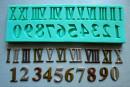 Numeri Romani. Fantastico Stampo in silicone