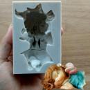 Stampo silicone bambina per il Cake design