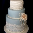 Bobina di Perle 8 mm non edibili per decorazioni Torte.