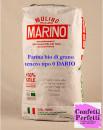 DARIO. Farina Bio di Grano Tenero Tipo 0. W 220-250. 1 Kg. Mulino Marino