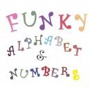 Funky Maiuscole Lettere e Numeri. Set di 35 caratteri. Fmm Chunky Set Tappits