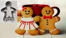 Gingerbread. Omino Pan di Zenzero. 3 Tagliapasta acciaio inox