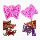 Grande Farfalla decorata. Stampo in silicone