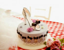 Kit Scarpa con Tacco Alto Cake Structure High Heel Shoe.