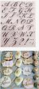 Lettere a Timbro trasferibili da dipingere