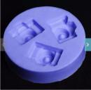 Macchina Fotografica. Stampo in silicone