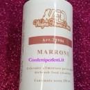 Marrone 250 ml. Colorante a base acqua per Aerografo. WFD