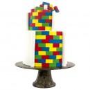 Mattoncini Lego. Set di 3 Multi Tagliapasta Geometrici Mattoni. PME