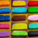 Pasta di zucchero 2 mm !! Colorata Confetti Perfetti per Copertura e Modelling.
