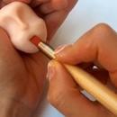 Pennello in Silicone con due punte 1.3 cm