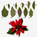 Stella di Natale Stampo per decorazioni in pasta di zucchero