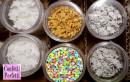Stelline Oro Argento Bianche e Multicolore in Zucchero