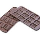 Tavoletta. Stampo di 12 cavità per Cioccolato