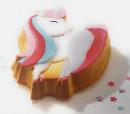 Unicorno. Grande Stampo in silicone per i bambini
