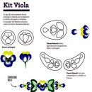 Viola. 5 Stampi imprimi Decora