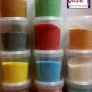 Glitter di zucchero Perlescenti in vari colori.