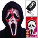Scream con Pompa e tubo per il sangue. Fantastica maschera Horror!!