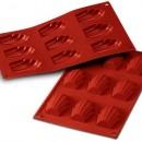 9 Madeleine. Stampo in silicone Platinico  di alta qualità.