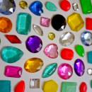Mini Diamanti e Gemme. Stampo in Silicone