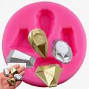 4 Diamanti e Gemme Preziose. Stampo in Silicone