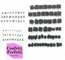 52 Lettere Alfabeto Gotico. Stampo Tagliapasta