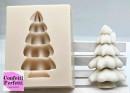 Albero di Natale in 3/D. Stampo silicone