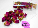 Boccioli di Rosa edibili interi essiccati. Anche per decorazioni